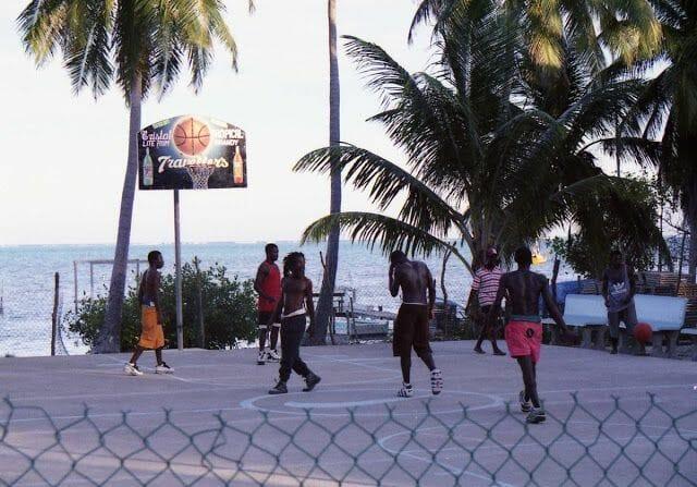 baloncesto en Cayo Caulker