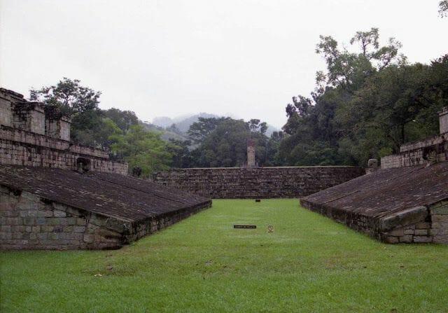 copán en el viaje a la ruta maya