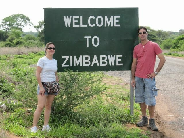 zimbabwe border, frontera zimbabwe botsuana