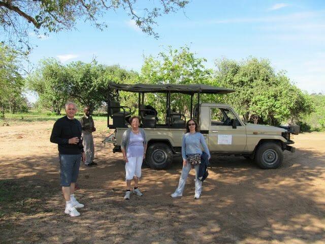 safari parque nacional de Chobe
