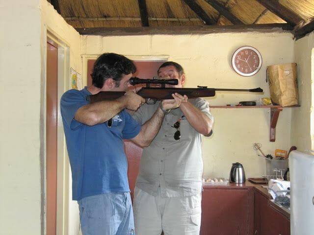 rifle en africa