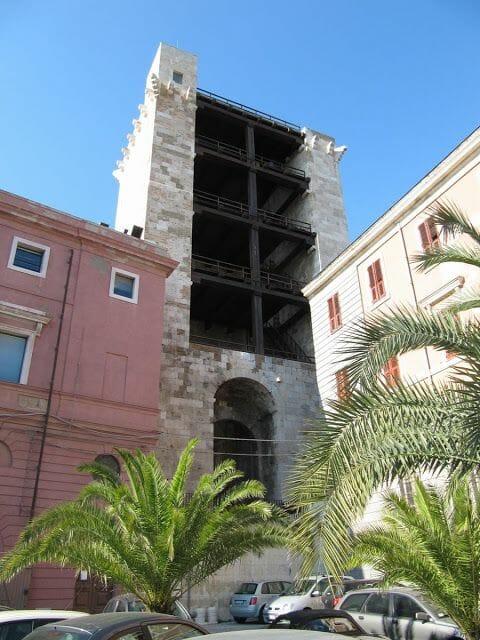 torre de San Pancracio, torres de Cagliari