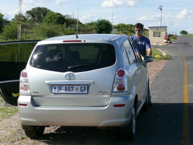 coche alquiler sudafrica