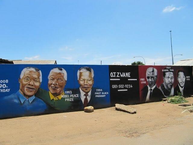 soweto, murales soweto