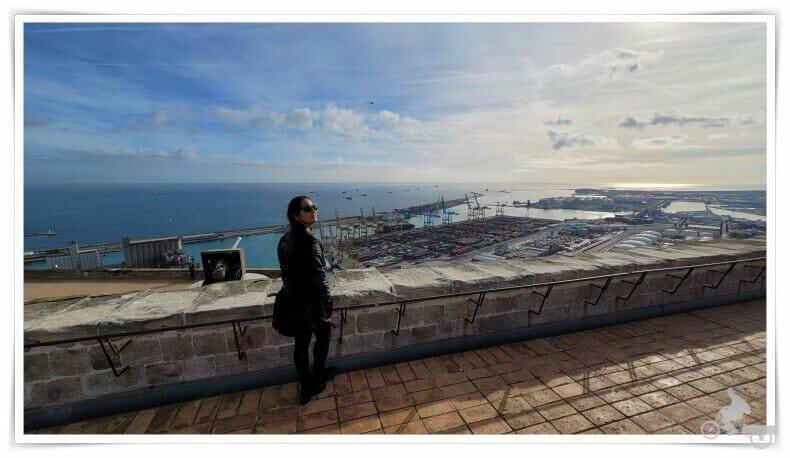 vistas desde el baluarte de Sant carles