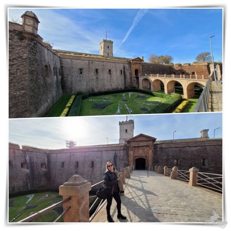 Entrada del castillo de Montjuïc