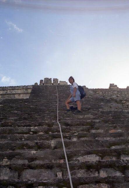 piramide ruinas de Edzná
