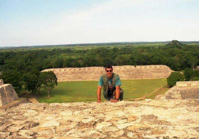 ruinas de Edzná piramide