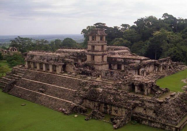 complejo ruinas de Palenque
