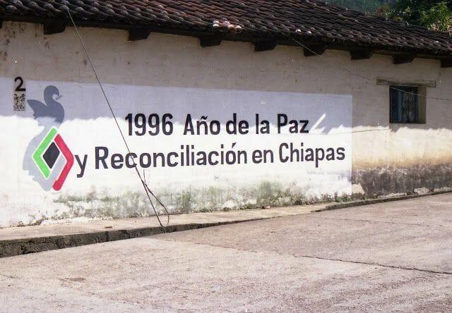 1996 año reconciliacion chiapas