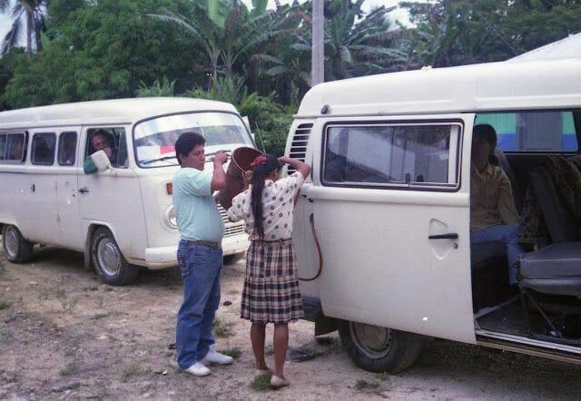 gasolinera dentro del Tour a Yaxchilán y Bonampak desde Palenque