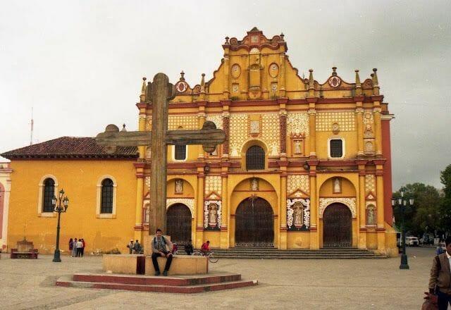 lugares turísticos de Chiapas catedral de San Cristóbal de las casas