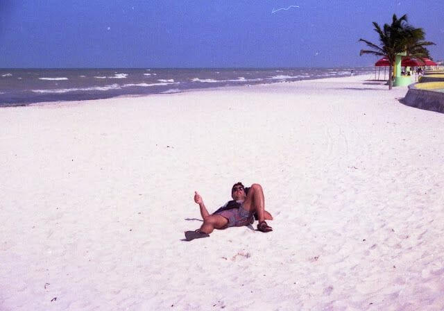 tumbado playa de mérida