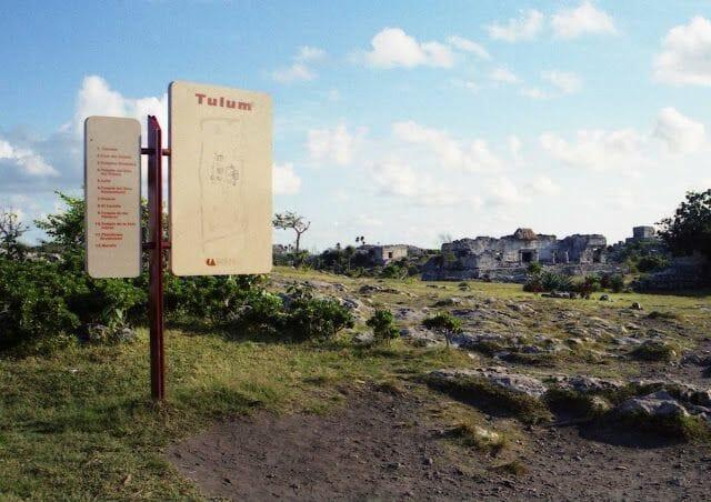 tulum en el viaje a la ruta maya