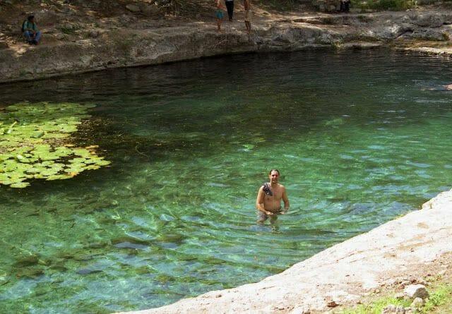 cenote de Mexico