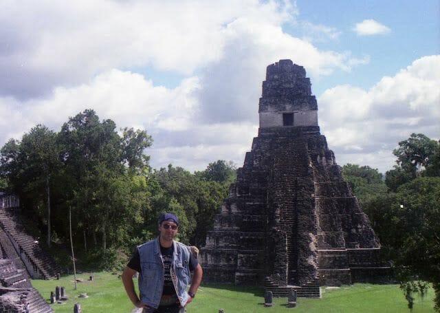 pirámide de Tikal