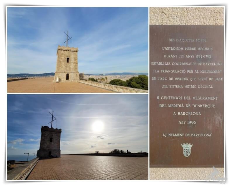 torre vigia castell montjuic
