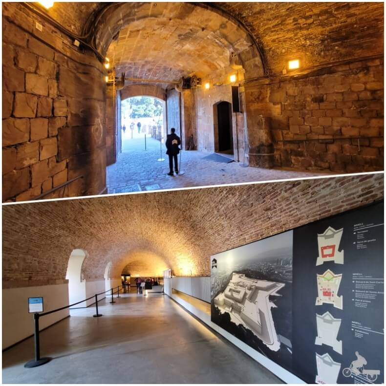 punto venta de entradas del castillo de Montjuïc