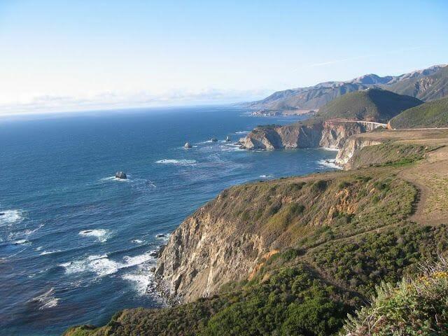 viaje a la Costa oeste de los Estados unidos entre San Francisco y Los Angeles