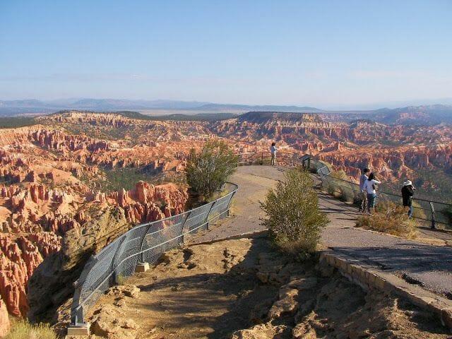 Vistas del Bryce canyon - viaje a la Costa Oeste de Estados Unidos