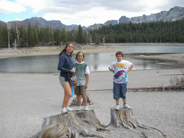 Horshoe lake (Mammoth lakes)