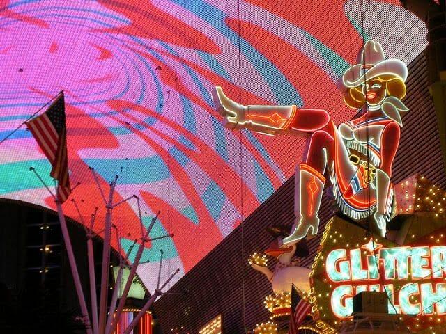 Glitter Gulch las vegas - qué ver en la Costa Oeste de Estados Unidos