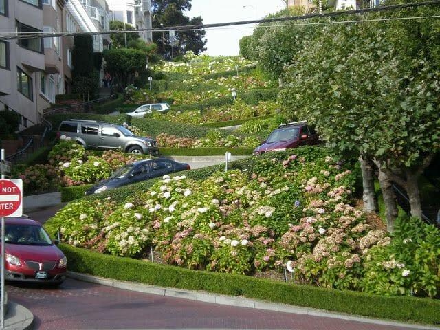 Lombard Street - viaje a la Costa Oeste de Estados Unidos