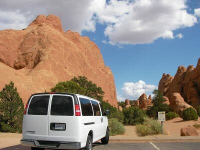 Arches national park en unas horas en coche