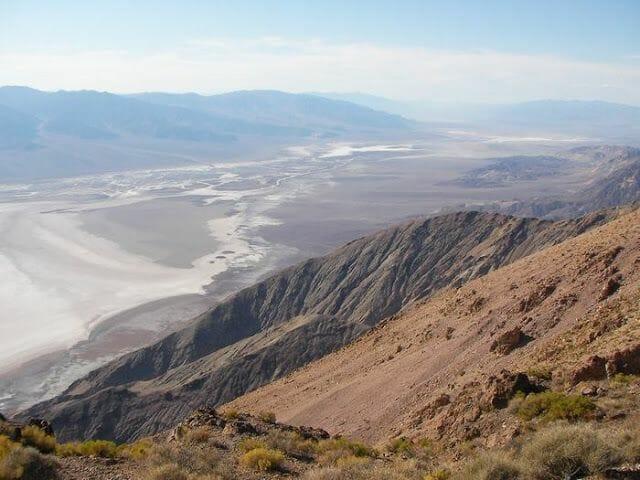 Dante's view Valle de la Muerte
