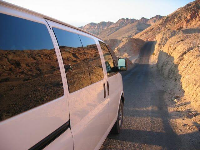 Artist Drive - visitar Death Valley