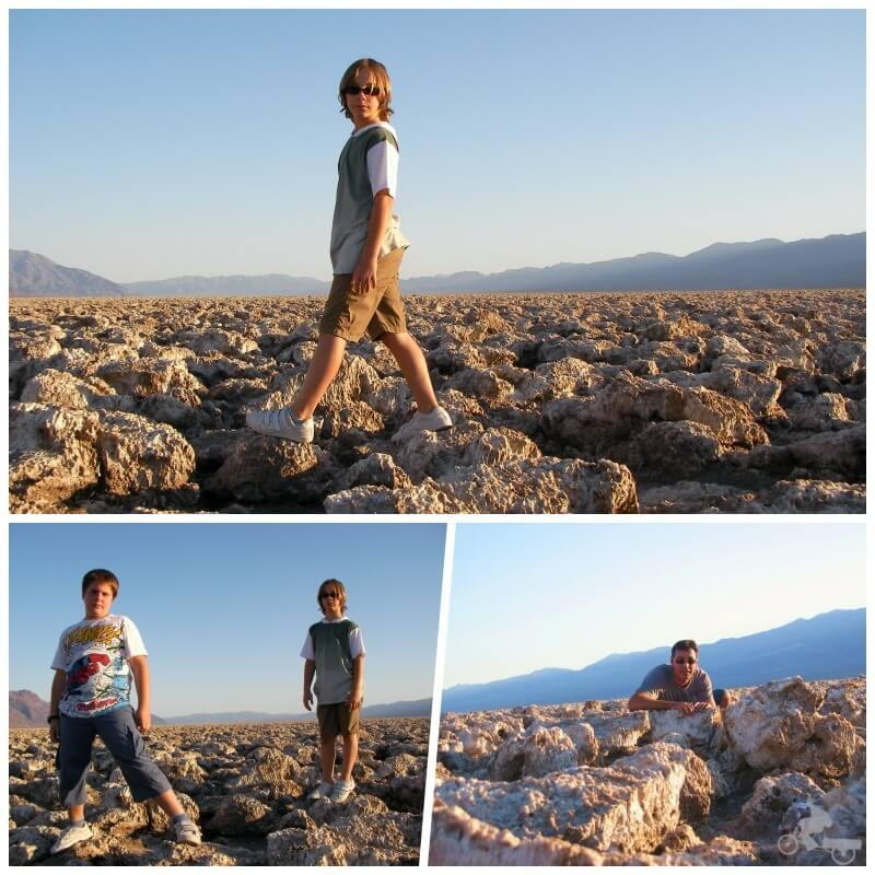 Devil's Golf Course - visitar Death Valley
