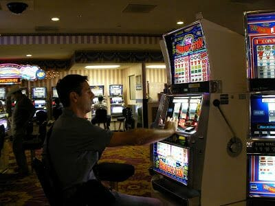 Viaje a Las Vegas jugando a las tragaperras