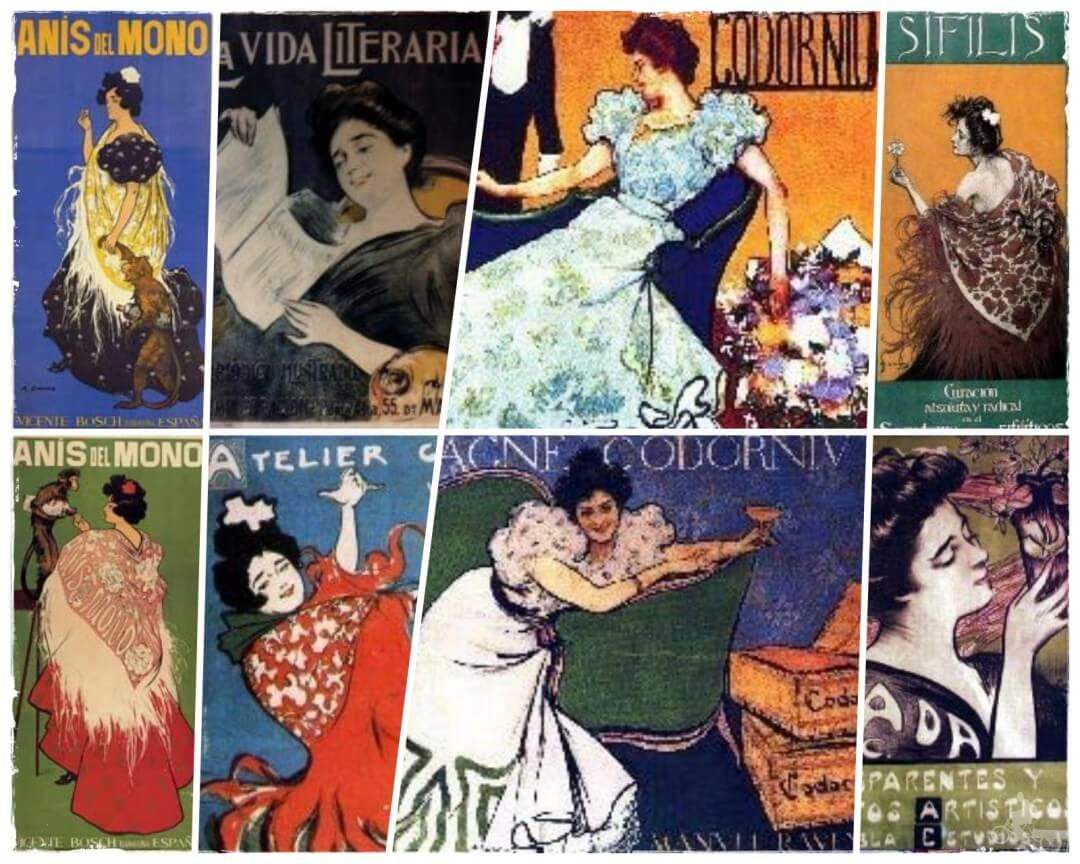 carteles modernistas barcelona