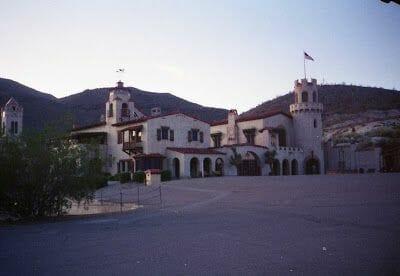 Scotty Castle, death valley, valle de la muerte, desiertos de california
