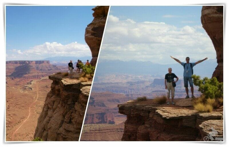 vistas desde island in the sky - Canyonlands