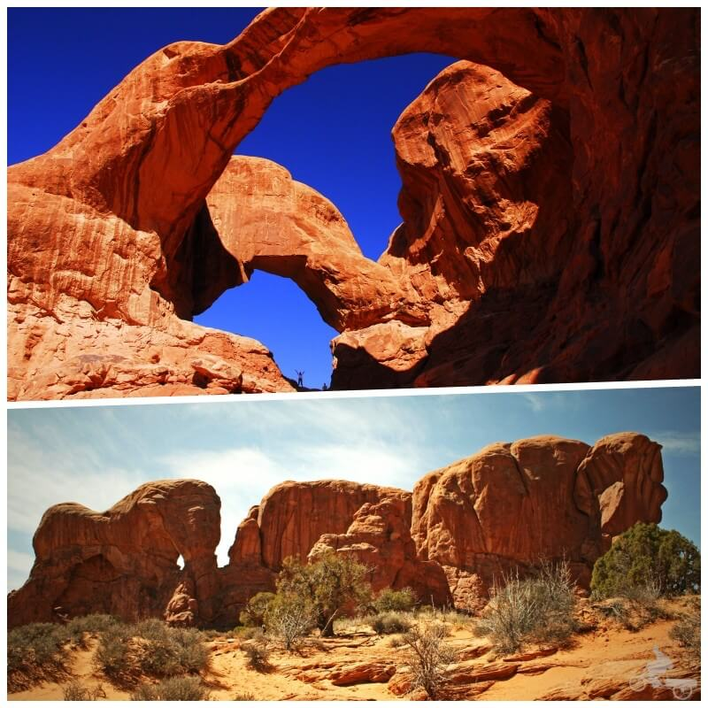 windows section - Arches national park en unas horas