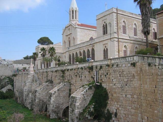 Santuario de Nuestra Señora del Huerto, monasterio de Belén