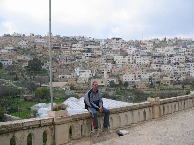 mirador de la ciudad de belén, donde nació Jesús, o eso cuentan