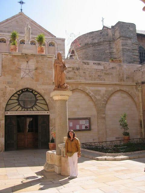 Basílica de la Natividad - ciudad de Belén