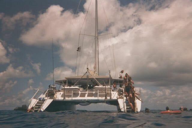 catamaran gran barrera del coral australia