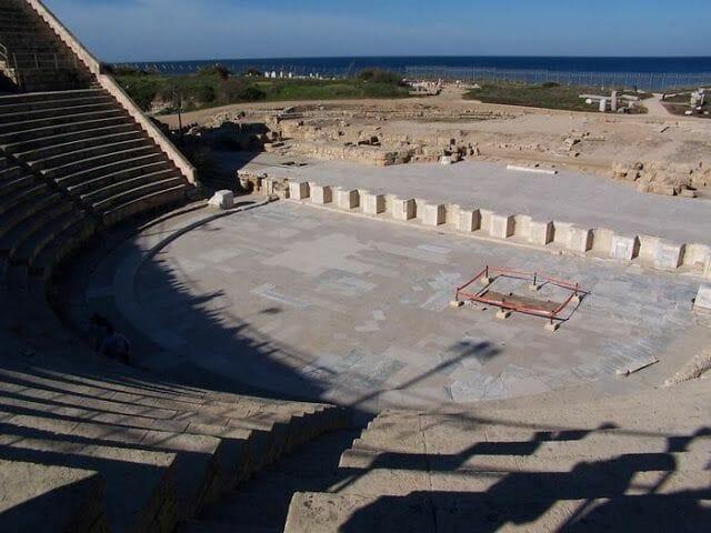 teatro romano de Cesarea Marítima