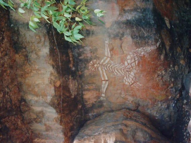 pinturas rupestres australia