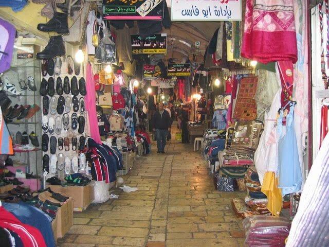 barrio musulman jerusalén