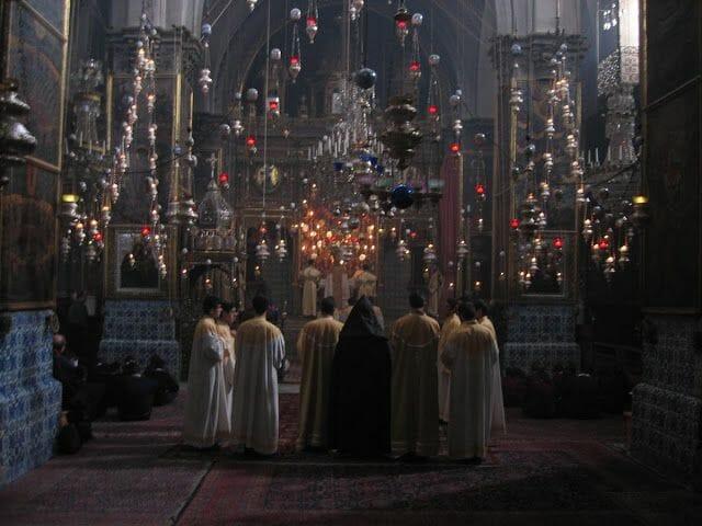 misa Armenia, misa en Jerusalén, Jerusalem prayers