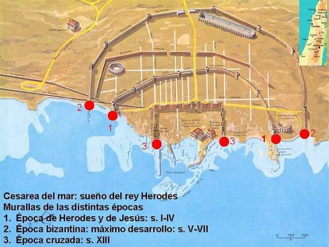 plano de Cesarea