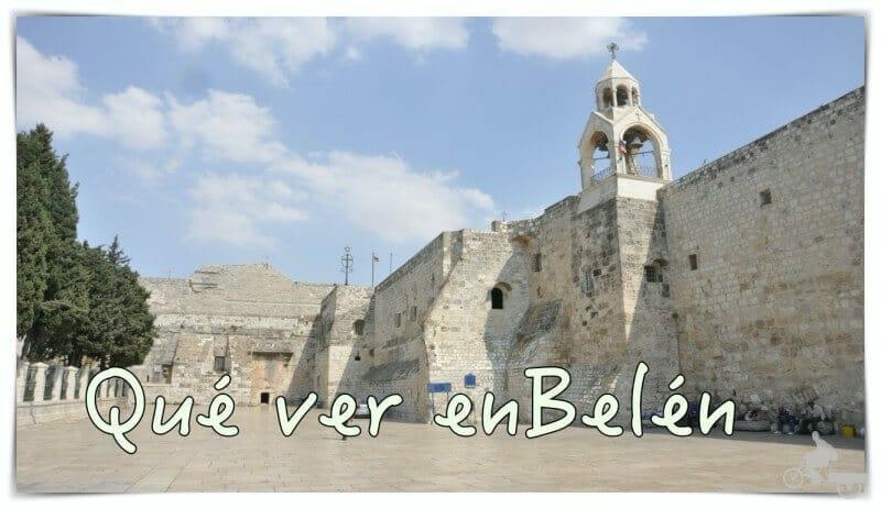 Ciudad de Belén donde nació Jesús