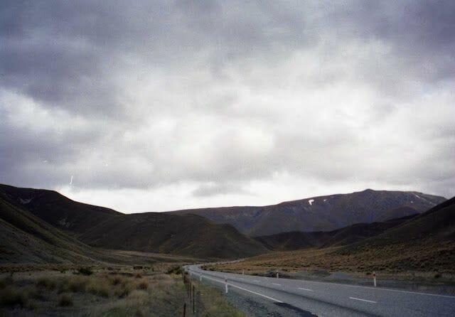 carretera de New Zealand