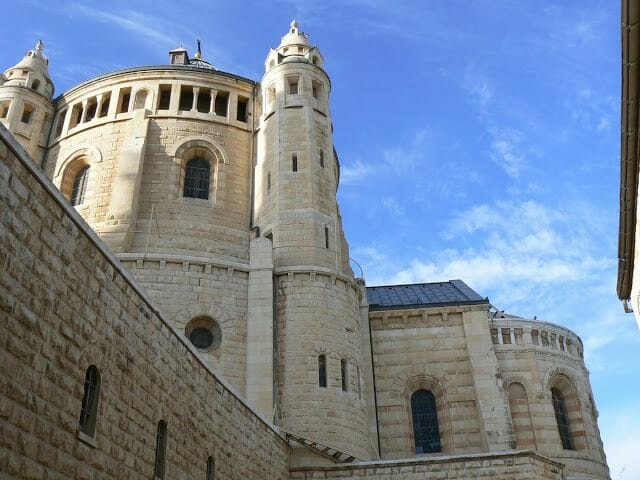 abadia de la dormición en Jerusalen