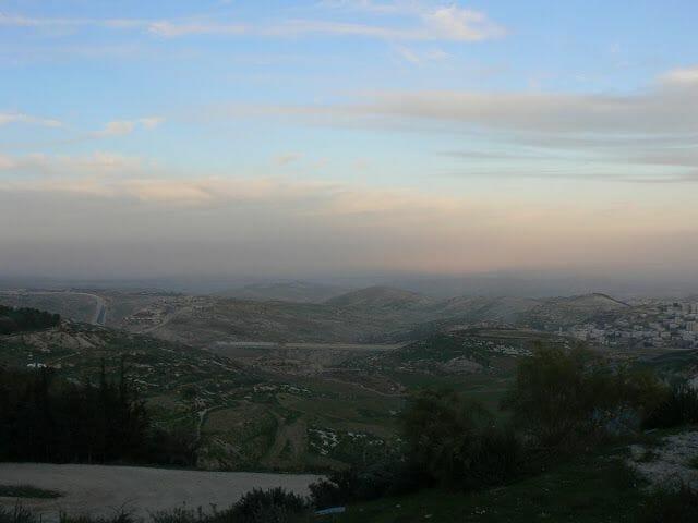 mirador de Cisjordania - Jerusalén en 2 días
