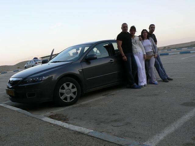 coche alquiler israel